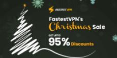 Get FastestVPN Upto 95% discount On Christmas