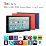 Fire HD 10 Tablet with Alexa hands-free – Black, 32 GB-33%OFF