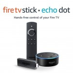 Fire TV Stick bundle with Echo Dot (2nd Gen) – Black