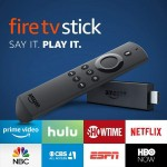 Fire TV Stick with 1st Gen Alexa Voice Remote, streaming media player