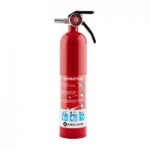 First Alert Standard Home Fire Extinguisher (Red)