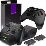 Fosmon Xbox One / One X / One S Dual Slot Controller Charger