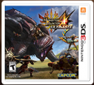 Monster Hunter 4 Ultimate (Nintendo 3DS Digital Download) -$9