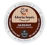Gloria Jean's® Hazelnut Coffee K-Cups, 24/Box $14.88/BX