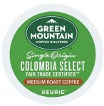 72-Ct Green Mountain Coffee K-Cups (Colombian Select Fair Trade, Medium Roast)