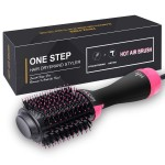 Hair Dryer Brush, IKEDON Dry, Straighten & Curl One Step Hair Dryers with Negative Ion