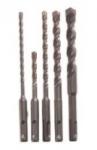 5-Piece Bosch S4L SDS-plus Rotary Hammer Drill Bit Set
