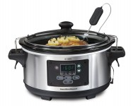Hamilton Beach 6-Quart Programmable Set & Forget Slow Cooker – $42.83