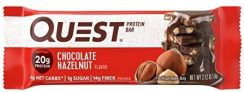 12-Count Quest Nutrition Protein Bars (Chocolate Hazelnut)
