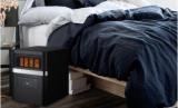 Soleil Electric Quartz Infrared Heater, Black, PH91K