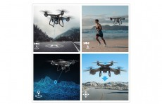 Holy Stone – HS100 Wifi FPV Drone with 1080P Camera and GPS, Black