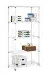 Honey-Can-Do 5-Tier 36″ x 14″ x 72″ Steel Storage Shelving (200-lbs Per Shelf)