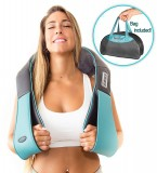 InvoSpa Shiatsu Back, Neck and Shoulder Massager with Heat – $34.97