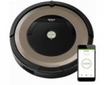 iRobot – Roomba 891 App-Controlled Self-Charging Robot Vacuum – Champagne-Save $150