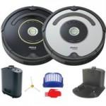 iRobot Roomba 650 or 655 Automatic Robotic Vacuum w/ Dock (Refurb)