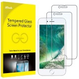 JETech Screen Protector for Apple iPhone 8 and iPhone 7, 4.7-Inch, Tempered Glass Film, 2-Pack-(30%) OFF