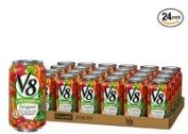 24-Pack 11.5oz V8 Original Low Sodium 100% Vegetable Juice