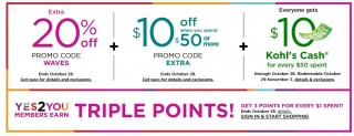 Up to 75% Off Baby & Kids Sale + Extra 20%-@Kohl's