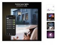 Philips Hue White & Color Ambiance LED Smart Light 3-Bulb Starter Kit