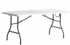 Living Accents 6′ Rectangular Fold-In-Half Table