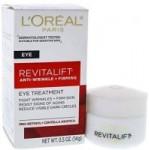 0.5-Oz L'Oreal Paris Skincare Anti-Wrinkle & Firming Eye Cream Treatment