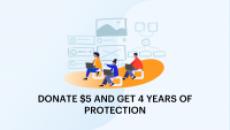 Malwarebytes Premium DONATE $5 AND GET 4 YEARS OF PROTECTION
