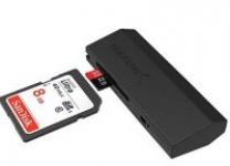 Sabrent SuperSpeed 2-Slot USB 3.0 Flash Memory Card Reader