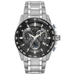Men's Citizen Eco-Drive Titanium Chrono Atomic Timekeeping Watch