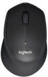 Logitech M330 Silent Plus Advanced Optical Wireless USB Mouse, Black-70% Savings