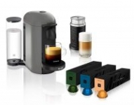 Nespresso VertuoPlus Coffee and Espresso Maker w/ Milk Frother – $129.99