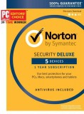 Norton Security Deluxe – 5 Device [Key Card]-$29.99-@Amazon