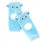Nuby Car Seat StrapCovers 2 Pack, Blue Monster $4.99