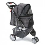 Pet Stroller 3-Wheel Jogger Folding Carrier for Dogs & Cats – $48.99 Each