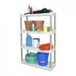 Plano 4-Shelf Storage Unit (32.25″W x 12.5″D x 48.25″H)