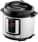 Insignia – 6-Quart Multi-Function Pressure Cooker – Stainless Steel