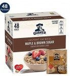 48-Count Quaker Instant Oatmeal Packets (Maple Brown Sugar)