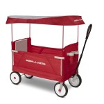 Radio Flyer 3-In-1 EZ Folding Wagon w/ Canopy