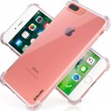 RareTel Clear Transparent Case for iPhone 7 Plus iPhone 8 Plus – Protective Builtin No Slip Grips – Four Corner Air Bags On Ultra Thin Shock Absorption Soft TPU Slim Bumper Design Cover-34%OFF