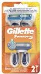 2-Count Gillette Sensor5 Men's Disposable Razors