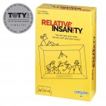 Relative Insanity Party Game About Crazy Relatives
