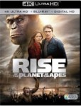 Rise of the Planet of the Apes (4K UHD + Blu-ray + Digital HD)-$7.99