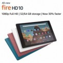 Fire HD 10 Tablet w/ Special Offers (Newest Model): 64GB $140, 32GB