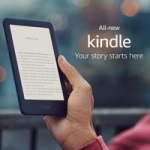 """4GB Kindle 6"""" WiFi E-Reader w/ Built-in Front Light + Special Offers (10th Gen)"""