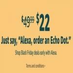 Amazon Alexa Voice Shopping: Echo Dot (3rd Gen) $22, Ring Video Doorbell 2