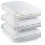 Calvin Klein Tossed Logo Hypoallergenic Down Alternative Gusset Pillows -Standard – All Firmnesses $5.99 – King – $9.99 at Macys. Free Store Pickup or Free Ship at $25.