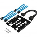 Sabrent SSD/HDD Mounting Bracket $3.40 or Kit w/ Cables
