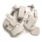 Safety 1st Magnetic Cabinet Locks (4 Locks + 1 Key)