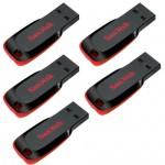 SanDisk 128GB 64GB 32GB 16GB 8GB Cruzer Blade CZ50 USB Flash Pen Drive OTG Lot $5.69