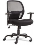 Alera Merix450 Series Big & Tall Mesh Swivel/Tilt Chair, Black – $164.98 Each