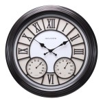 Select Lowe's Stores: AcuRite Indoor/Outdoor Clocks w/ Thermometer
